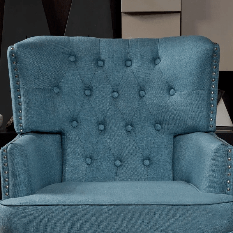 Lokatse Indoor Wing Sofa Chair - Traditional Style