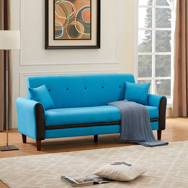 Levitator Sofa Set in Blue Colour By Glue Well