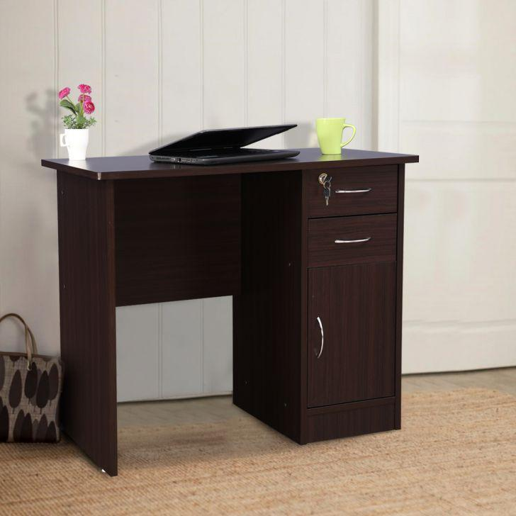 Unique Study Table in Wenge Colour by Furniture land