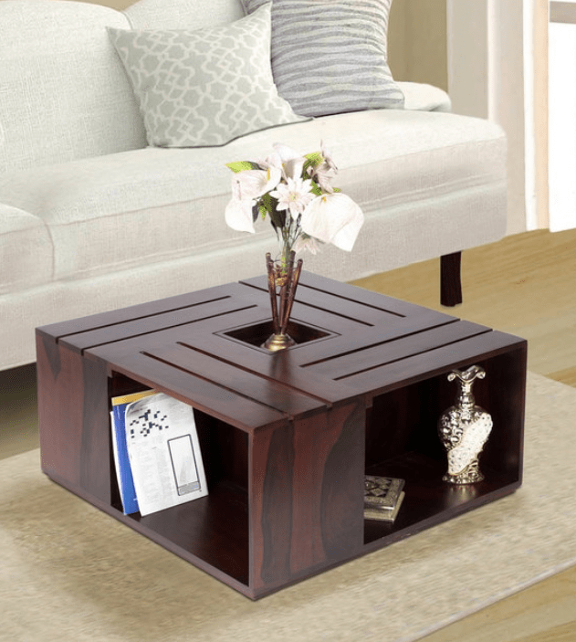 Rubi Coffee Table in Walnut Finish
