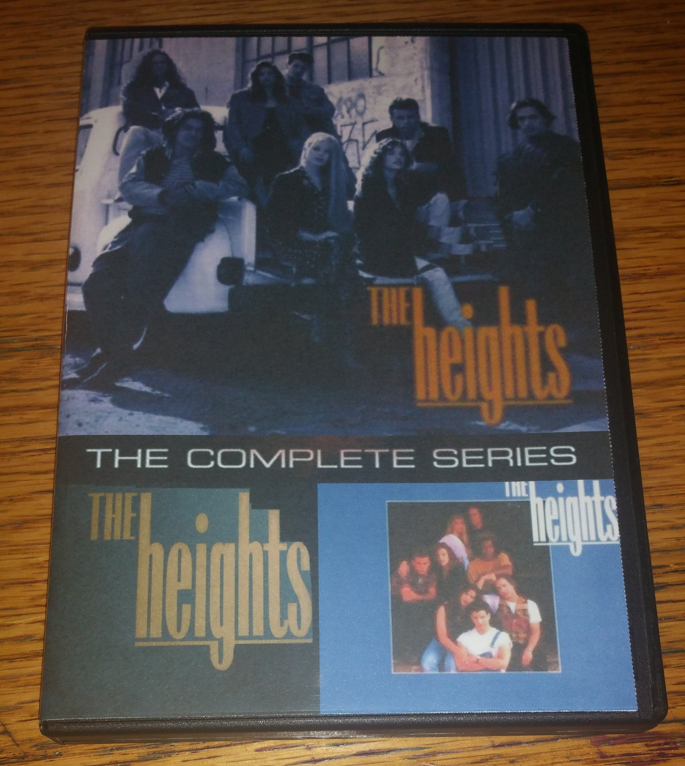 The Heights 1992 THE COMPLETE SERIES ON 4 DVD'S Shawn Thompson Cheryl Pollak