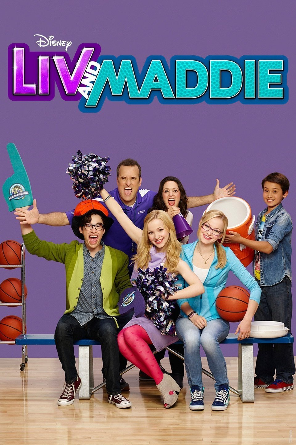 Liv and Maddie 2013 The Complete Series ON 4 DVD