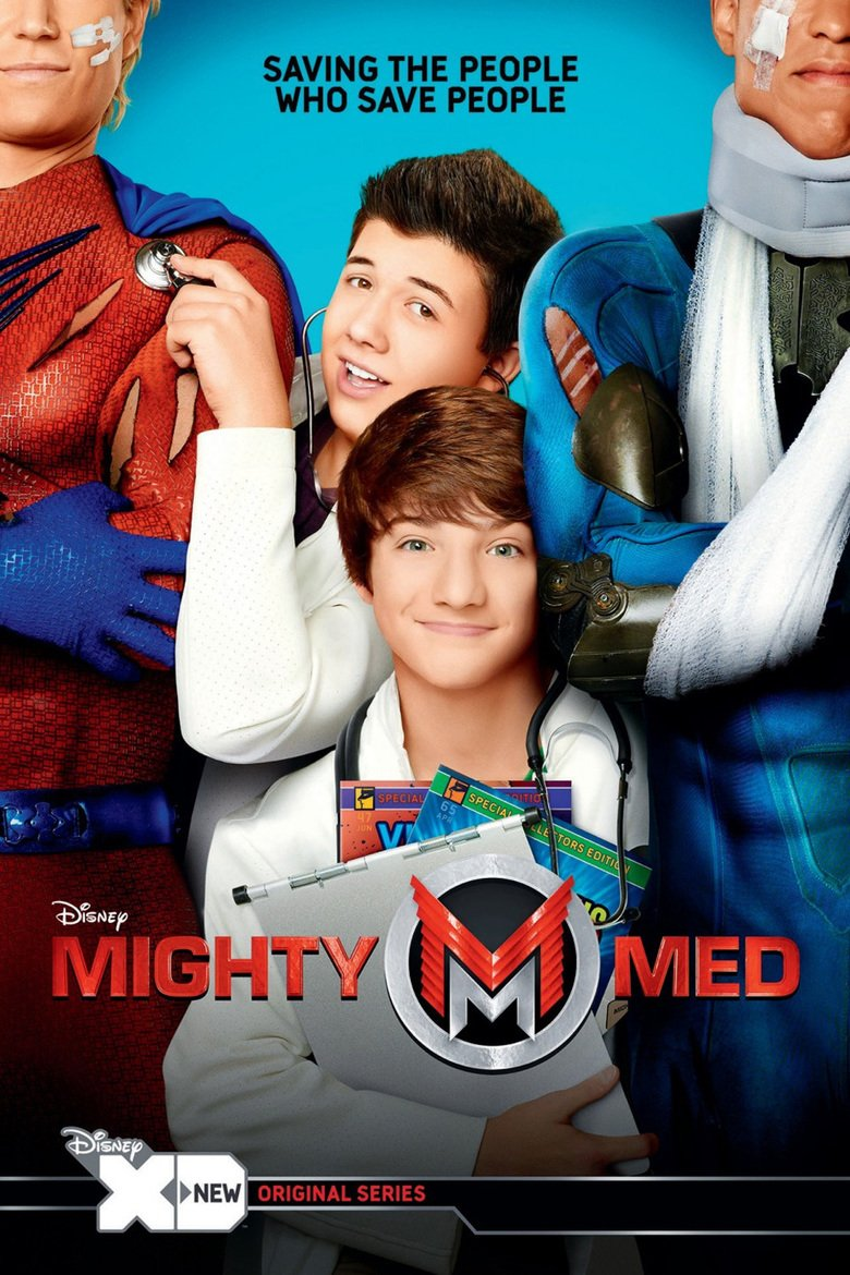 Mighty Med 2013 The Complete TV Series On DVD Bradley Steven Perry Jake Short Paris Berelc