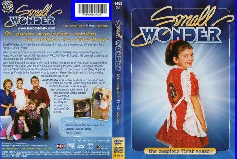 Small Wonder(1985)The Complete Tv Series 96 Episodes On 12 Dvd's Dick Christie Tiffany Brissette