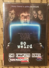 Load image into Gallery viewer, So Weird 1999 The Complete Series On Dvd Cara Delizia Mackenzie Phillips Erik Von Detten ALL NEW DIGITAL SOURCE