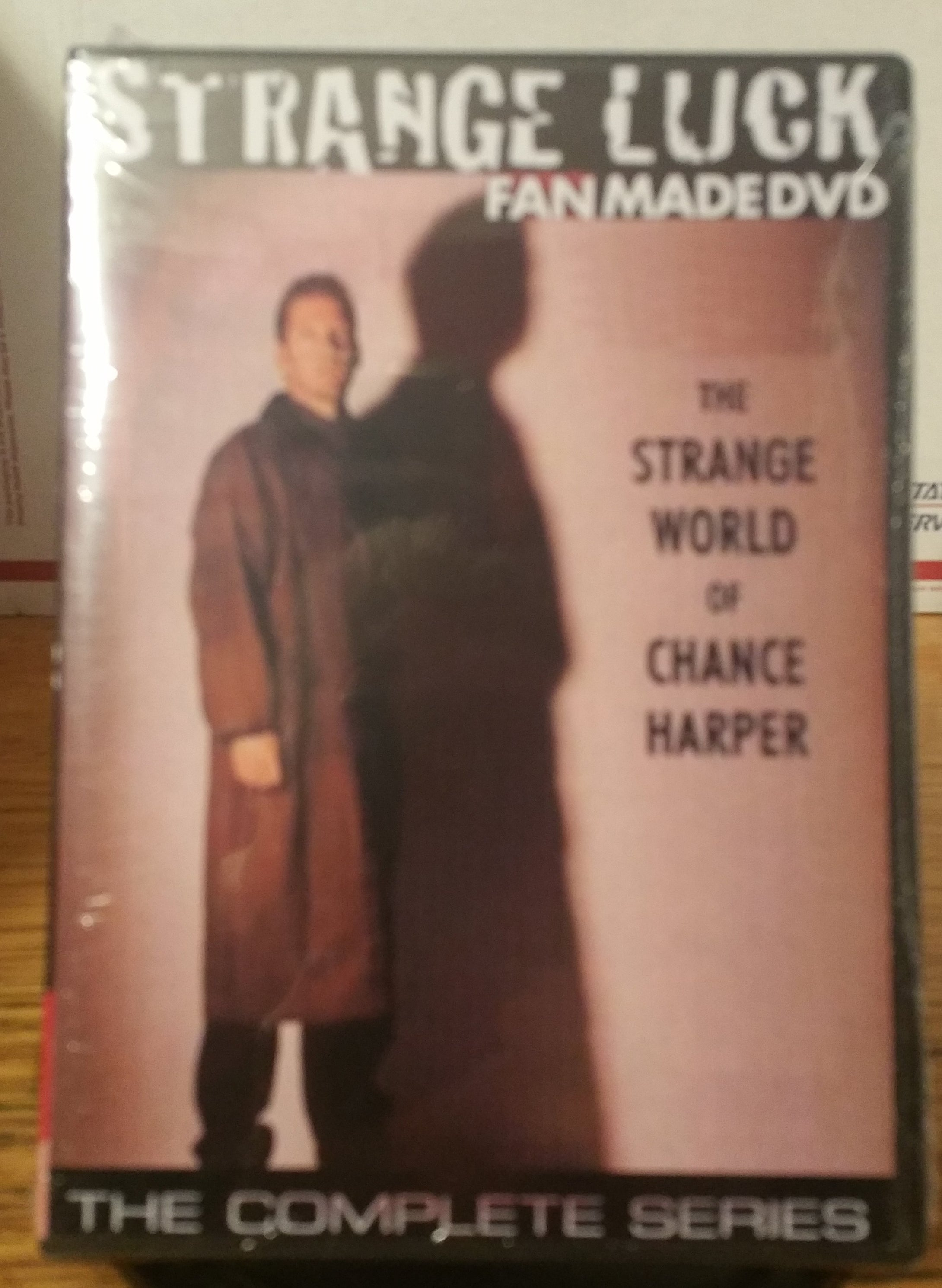 STRANGE LUCK (1995) THE COMPLETE TV SERIES 17 EPISODES ON DVD D.B. Sweeney Frances Fisher