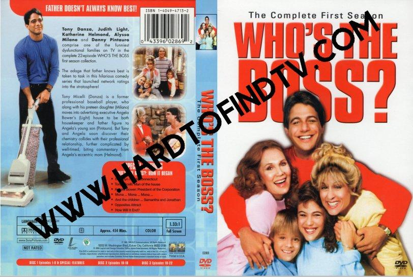 Who's the Boss? 1984 Complete Series On DVD Tony Danza Judith Light Alyssa Milano Danny Pintauro
