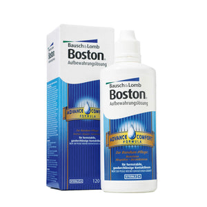 Boston Advance Conditioner 120 ml, Aufbewahrungslösung, Desinfektion, formstabile Kontaktlinsen