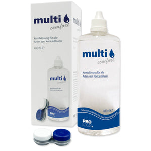 multicomfort 400 ml incl Behälter, Kontaklinsenpflegemittel, All-in.one-System