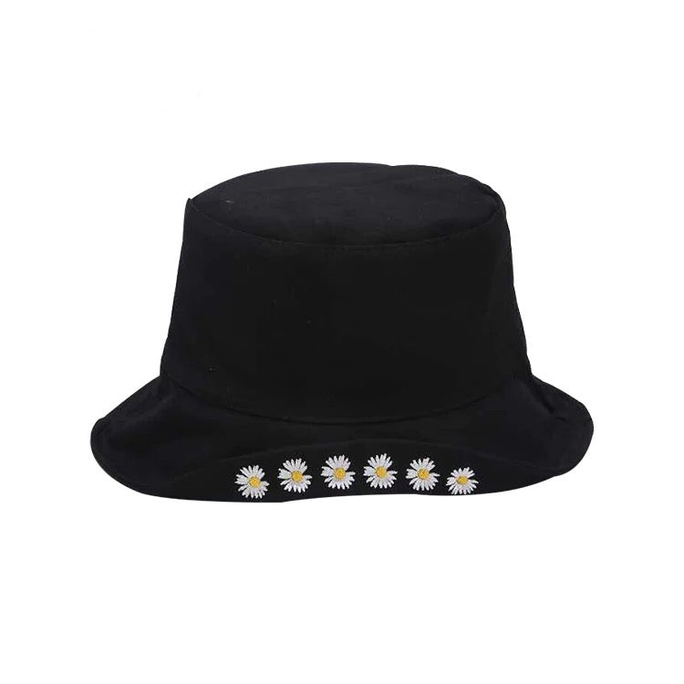⭐New Arrival⭐ Flower Embroidered Kids Bucket Hat