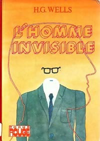 L'homme invisible - Herbert George Wells -  Poche Rouge - Livre