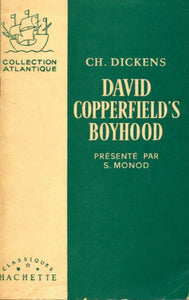 David Copperfield - Charles Dickens -  Collection Atlantique - Livre
