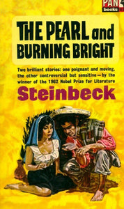The pearl and burning bright - John Steinbeck -  Pan Books - Livre