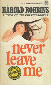 Never leave me - Harold Robbins -  New English Library - Livre