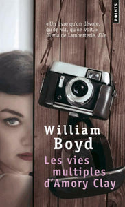 Les vies multiples d'Amory Clay - William Boyd -  Points - Livre