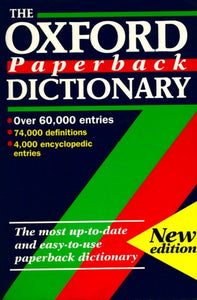 The oxford paperback dictionary - Collectif -  Oxford University GF - Livre