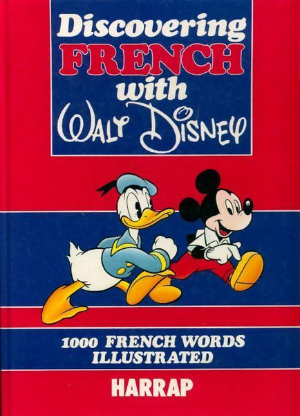 Discovering French with Walt Disney - Disney -  Harrap GF - Livre