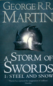 A storm of swords Tome I : Steel and snow - George R.R. Martin -  HarperCollins Books - Livre
