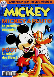 Le journal de Mickey n°2542 : Mickey & Pluto - Collectif -  Le journal de Mickey - Livre