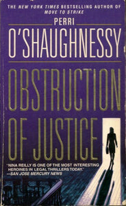 Obstruction of justice - Perri O'Shaughnessy -  Dell book - Livre
