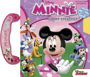 Minnie super créatrices - Disney -  Disney junior - Livre