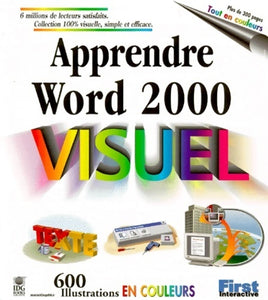 Apprendre Word 2000 - Collectif -  First interactive - Livre