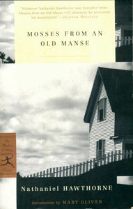 Mosses from an old manse - Nathaniel Hawthorne -  Modern library college - Livre
