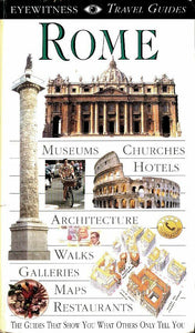 Rome - Collectif -  Eyewitness Travel Guides - Livre