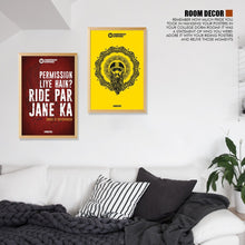 Load image into Gallery viewer, More Throttle More Thrills – Wall Posters For Bikers
