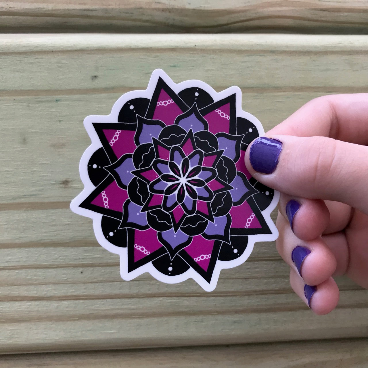Mandala Vinyl Decal