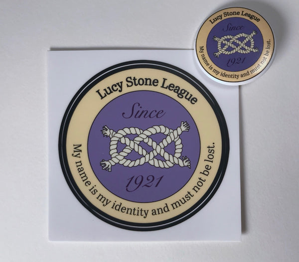 Lucy Stone League Vinyl Sticker & Button