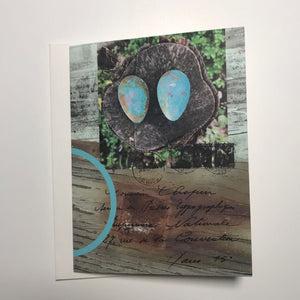 Robin's Eggs All Occasion Greeting Card
