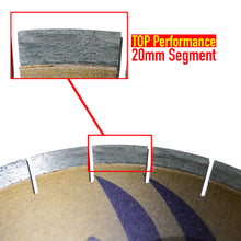Load image into Gallery viewer, Zered™ Premium GOLD Bridge Saw Diamond Blade for Quartzite - Bridge Saw Q20