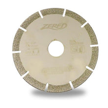 Load image into Gallery viewer, Zered™ Electroplated Diamond Blade for Marble and Glass Cutting / Angle Grinder use