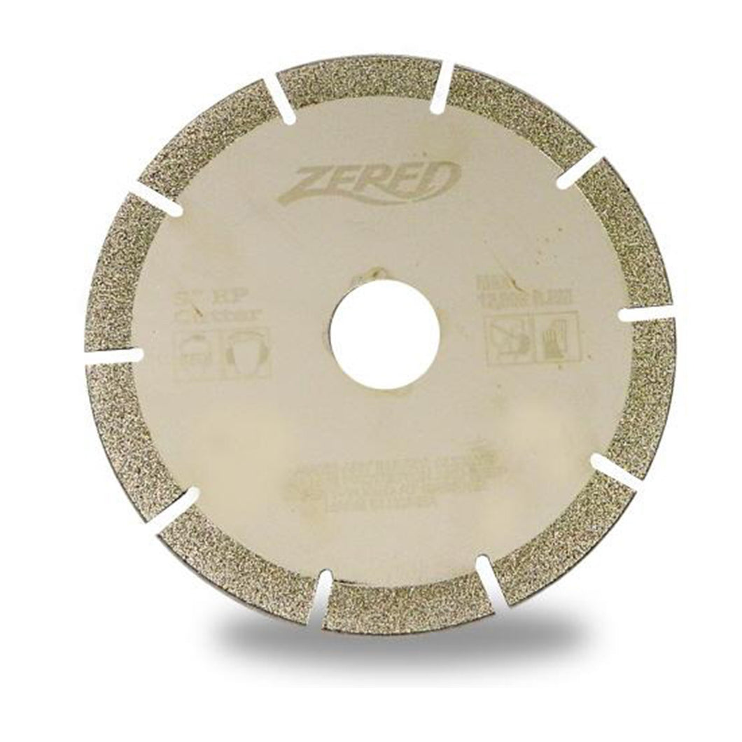 Zered™ Electroplated Diamond Blade for Marble and Glass Cutting / Angle Grinder use