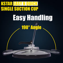 "Load image into Gallery viewer, 7"" Kstar Suction Cup for Any Stone Flat Surface Carry"