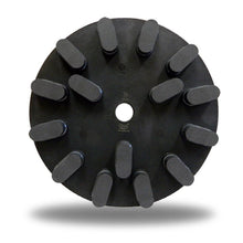 "Load image into Gallery viewer, Zered™ 10"" Multi Hole Polishing Disc Resin/Metal for Stone Slat Polishing"