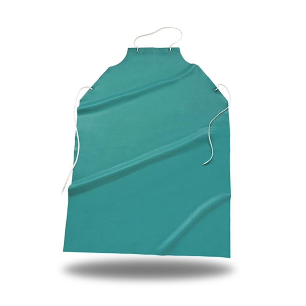 Waterproof Apron Vynil Green