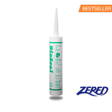 Load image into Gallery viewer, Zered™ BioSeal Silicone 10.1oz Clear - Waterproof Kitchen and Bath Grade Silicone Sealant Caulk