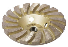 Load image into Gallery viewer, Zered™ GOLD Diamond Grinding Turbo Cup Wheel for Granite, Quartz and Hard Stone