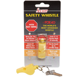 Secure FOX40 Safety Whistle - Yellow