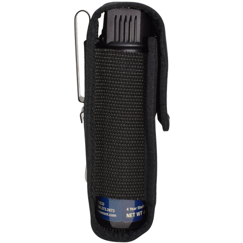 4 oz. Holster w/Clip for Pepper Enforcement® Brand Pepper Spray