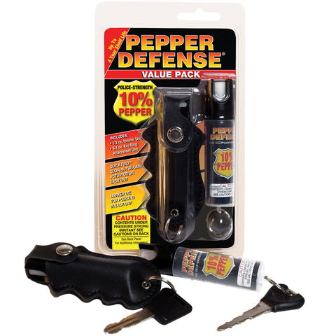Pepper Defense® Brand Self-Defense Spray - Value Pack