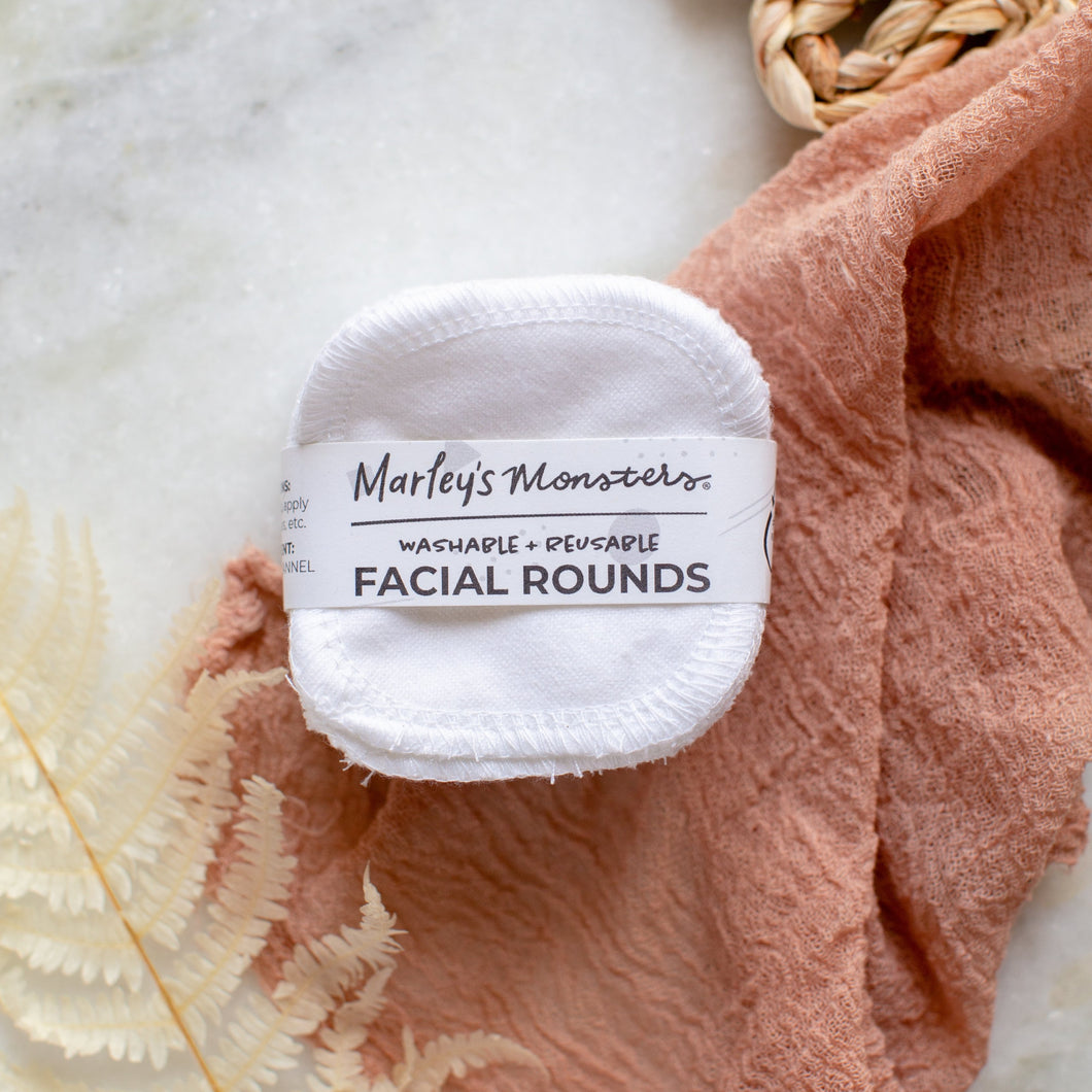 Reusable Facial Rounds