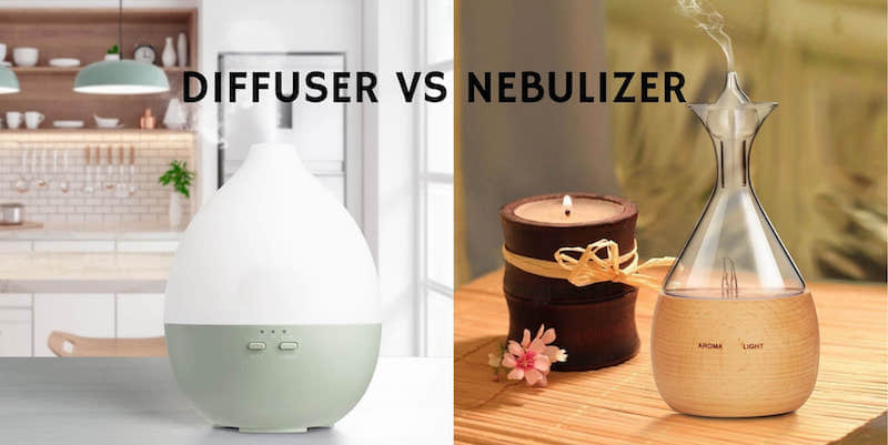Nebulizer vs Ultrasonic Diffuser