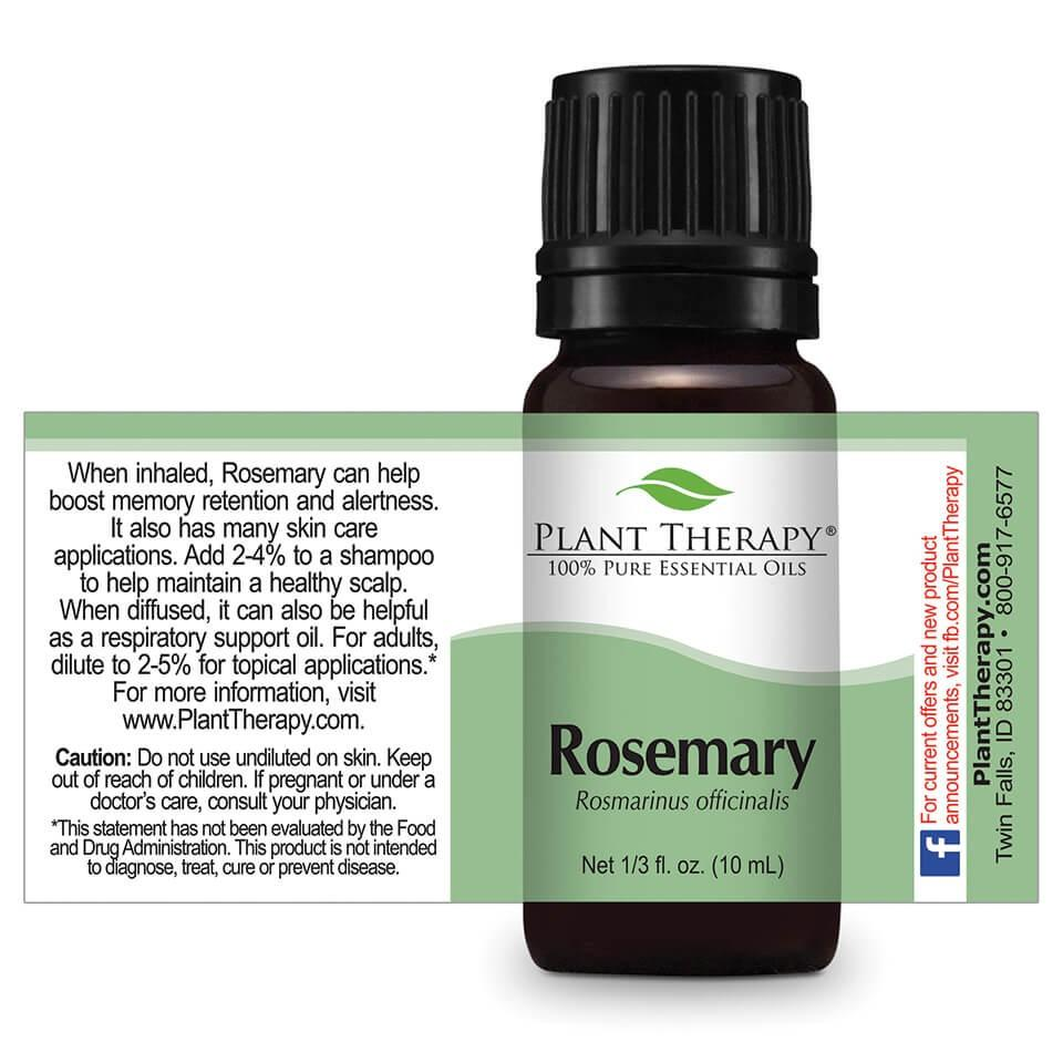 Plant Therapy Rosemary Essential Oil