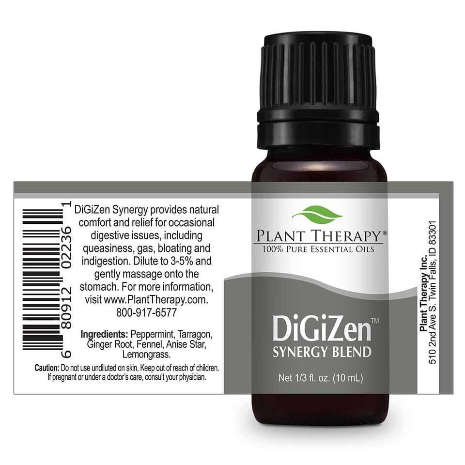 Plant Therapy DigiZen (Gut Aid) Synergy Essential Oil