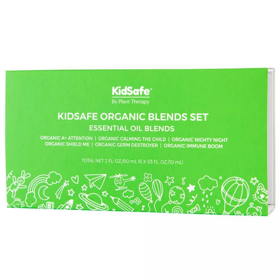 Plant Therapy KidSafe Organic Blends Set