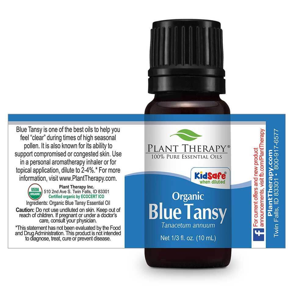 Plant Therapy Blue Tansy Organic Essential Oil
