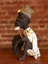 Load image into Gallery viewer, Squatting Man African Doll